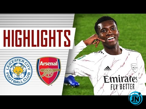 Leicester City vs Arsenal (0-2) - Carabao Cup